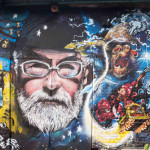 Vision X Zadok - Terry Pratchett Wall