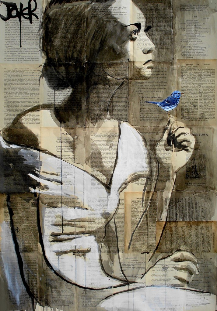 Loui Jover -Ink Drawings On Newspaper #artpeople