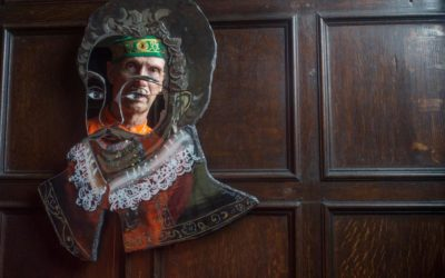 All that glitters: golden artworks grace Sir Francis Drake's Devon home